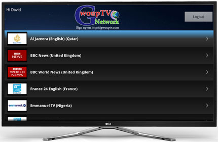 How to install GwoupTV Network App to GoogleTV Devices